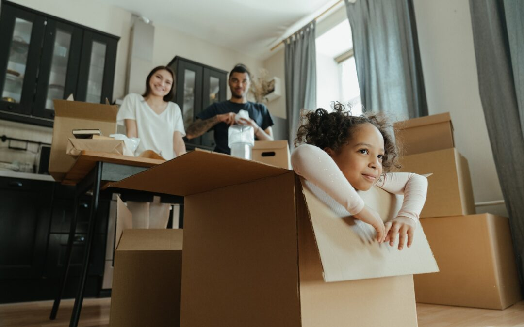 Moving With Children, the Right Way!